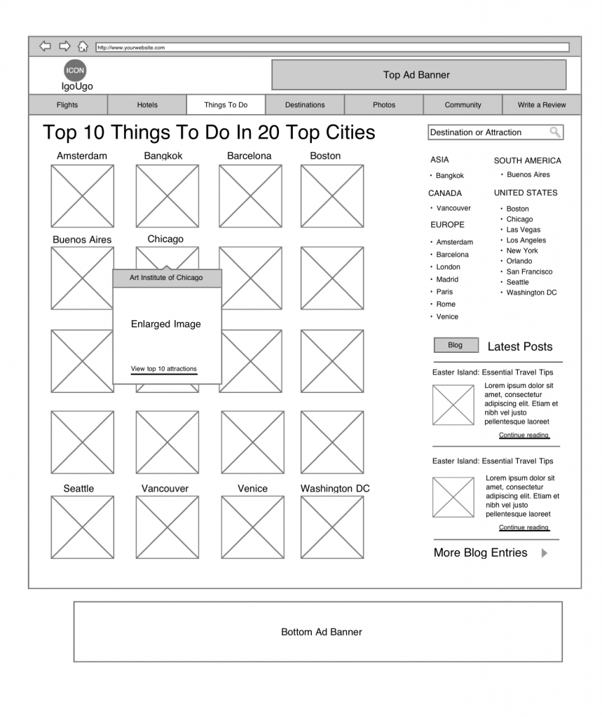IgoUgo Things To Do Wireframe 1