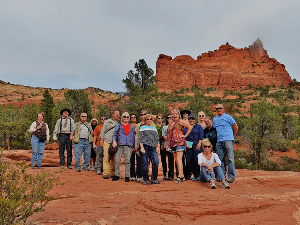 LSS Group Shot on Red Rock Jeep Tour