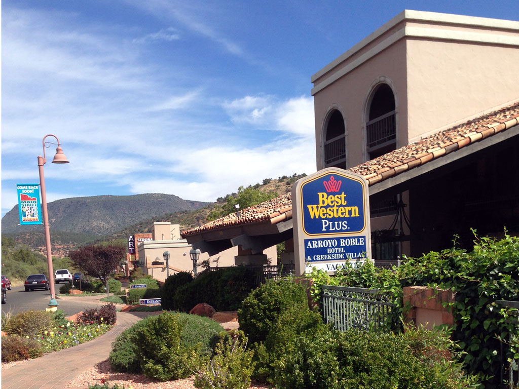 Our Lodging in Sedona