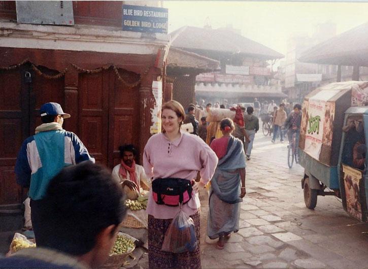 Hanging in Kathmandu 1994
