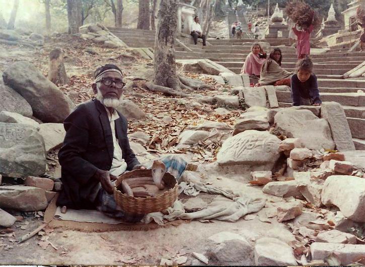 Steps to Swayambunath